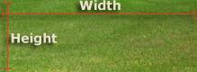 Sod Calculator Width & Height